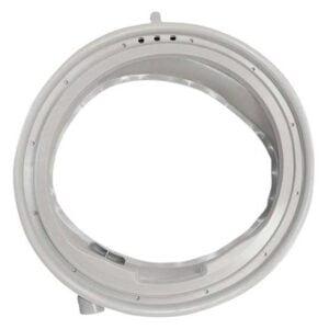 Манжета (уплотнитель люка) 680768 (680769) стиральной машины Bosch, Siemens (Avantixx, Logixx, WM, WAQ, WAS и др). Прокладка бака, диафрагма люка, резиновый уплотнитель дверцы, резина стиральных машин Бош, Сименс. Особенности манжеты: - три дренажных отверстия; - трубка для ополаскивания вещей во время стирки (стиральные машины с системой aqua spray, jet system). Взаимосвязанные коды: 9000985584, GSK009BO, 0060768 / 00680769