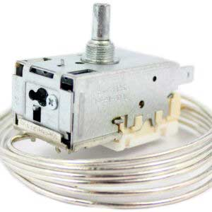 Термостат K59-S1886 холодильной камеры Атлант, Stinol, Indesit, Ariston и др. Терморегулятор К-59 S1886 двухкамерных холодильников Атлант, Стинол, Индезит, Аристон и др. Датчик реле температуры K59S1886. Длина капиллярной (сильфонной) трубки: 1,3 метра. Подключение: 3 клеммы + 2 клеммы заземление. Производитель: Ranco.