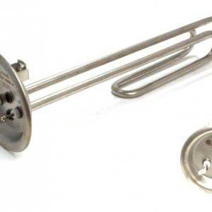 ТЭН - Нагревательный элемент 1500w (фланец Thermex 92 мм, нержавейка) Thermowatt. Оригинальный код: WTH019TX, 3170122, 3532631