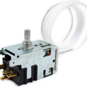 Терморегулятор 077B3562L арт. 904211900182 / 908081829743. Датчик реле температуры 077В3562L морозильной камеры. Длина капиллярной (сильфонной) трубки: 1,0 метра, в ПВХ-оплетке. Подключение: 4 клеммы + 2 клеммы заземление. Взаимосвязанные коды, аналоги: - Атлант 908081450098, 908081400090, 908081400098, 908081415140, 908081400054, 908081400060, 908081821956, 908081450240, 908081450099, 908081829741, 904211900188, 908081450271, - ТАМ145-2М-1.3, TAM-145-2M-1.3, - Ranco К56-L1956, K56L1956, - Ranco К56-L1954, K56L1954, - Ranco К56-L1916, K56L1916, - Ranco К56-P1431, K56P1431, - Ranco К56-S1971, K56S1971, - Ranco К54-S2121, K54S2121, - КХF27K1-Z, - Danfoss 077B2385L, 077В2385L, - Danfoss 077B2387L, 077В2387L Для морозильников Атлант: М-7184, ММ-184, M-7184, MM-184, М7184, ММ184, M7184, MM184