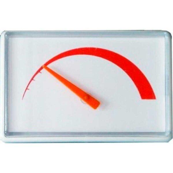 Термометр для бойлера универсальный (прямоугольный). Размер 70*47мм.