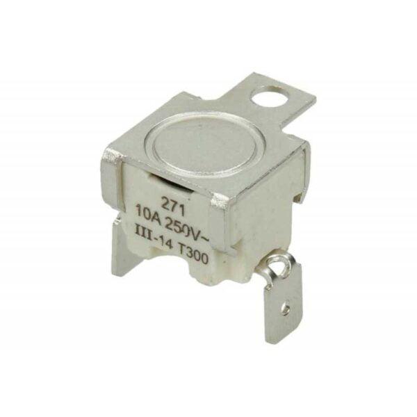 Термостат защитный для духовки T300, 10A, 250V 'cebi-elth' 3570560015 Срабатывает на замыкание при превышении температуры 250 градусов.