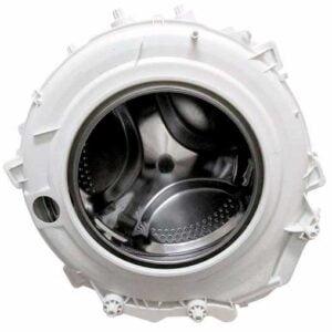Для стиральных машин Ariston (ARS, ARX), Indesit (WISL, WIA, WIN, WIS, IWS, XWS, BWS – серии). В комплект входит: подшипники (6204, 6205), барабан из нержавеющей стали, бойники, сальник (30*52*8,5/12 мм.), шкив. Объем: 40 литров.