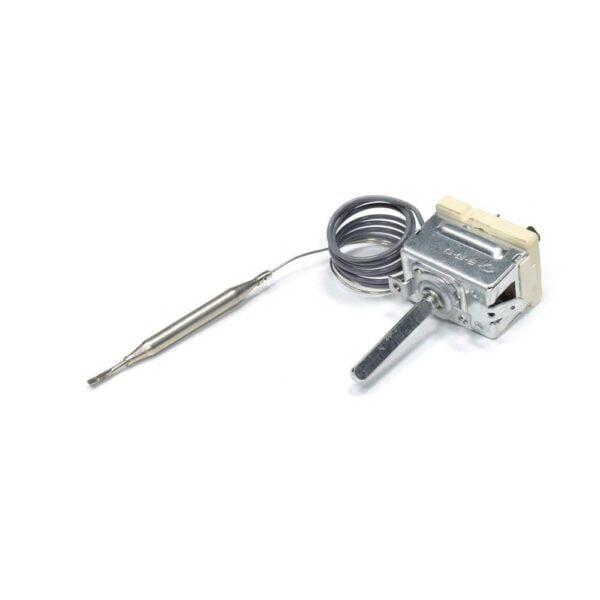 Терморегулятор EGO 55.17052.160 для духовки Гефест 1140, 2140, 2160. Термостат электроплиты Gefest 1140, 2140, 2160. Температура: 260°C. Термобаллон: 80 мм. Взаимосвязанный код: NT-252 CS. Термостат в ПВХ-оплетке.