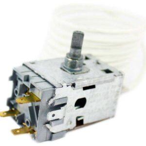 Термостат ATEA A11 0095 морозильной камеры Indesit, Stinol, Ariston/Hotpoint, Whirlpool. Терморегулятор А11 0095 холодильников Индезит, Стинол, Аристон/Хотпоинт, Вирпул. Датчик реле температуры A11 0095. Длина капиллярной (сильфонной) трубки: 2,5 метра, в ПВХ-оплетке. Подключение: 3 клеммы + 2 клеммы заземление. Производитель: ATEA, Италия. Взаимосвязанные коды, аналоги: - Indesit C00851095, С00851095, 851095, 488000851095, - ТАМ-145-2М-35-2.5-4.8-3-А, TAM145-2M, - Ranco К57-L2829, K57L2829, - Electrolux 2083743035, 2083743050.