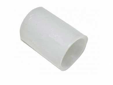 Втулка петли стиральной машины Атлант 771332100100. Пластиковая втулка на петлю люка стиральной машины. Конусной формы. Наружный диаметр: 6,8 мм и 7,2 мм. Внутренний диаметр: 5 мм. Высота: 10 мм.
