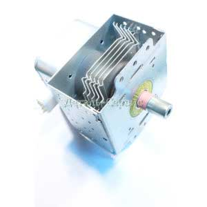 Магнетрон микроволновой печи LG 2M226-01GMT, 5 пластин, 900W, крепление радиатор/фишка не на стороне радиатора