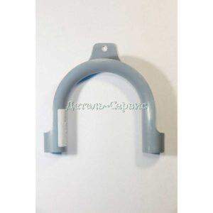 Пластиковые держатели сливного шланга для слива воды в ванну или в любую другую сантехническую конструкцию.