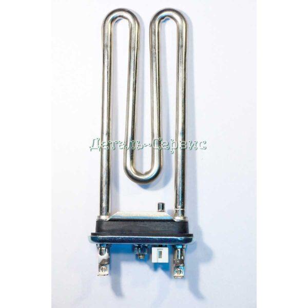 Оригинальный тэн для стиральной машины от компании LG, мощностью 1600 w, с отверстием под датчик, длиной 175 мм