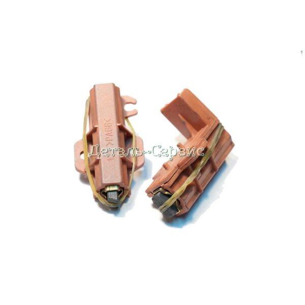 Щетки угольные Indesit/Ariston/Whirlpool в корпусе C00196539 (со щеткодержателем, комплект 2шт)