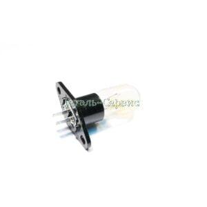 Лампочка для микроволновки 20W контакты прямые
