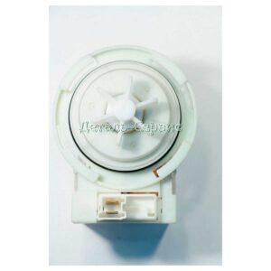 Сливной насос (моторчик) фирмы Copreci, на 4-х защёлках по кругу, у крыльчатки 6 лопастей, надпись на моторчике: KEBS, 30W, 0.2 А Применяется для марок Bosch, Siemens