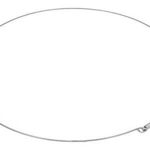 Металлический наружный хомут резины люка стиральной машины. Стяжка дверной резинки стиральной машины. Диаметр: 305 мм.