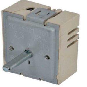 Регулятор мощности конфорки EGO 50.55021.100 двухзонный 13A металл шток