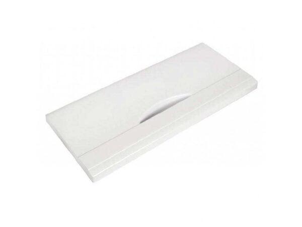 Панель нижнего металлического ящика-корзины Атлант 341410105200, белая