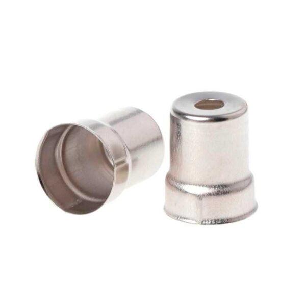 Колпачок магнетрона микроволновки Ø15/13 мм, H=19 мм (круглое отверстие)