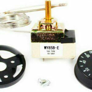 Термостат WY85BE электрокотлов Термекс (30..85°С, капиллярный), с ручкой