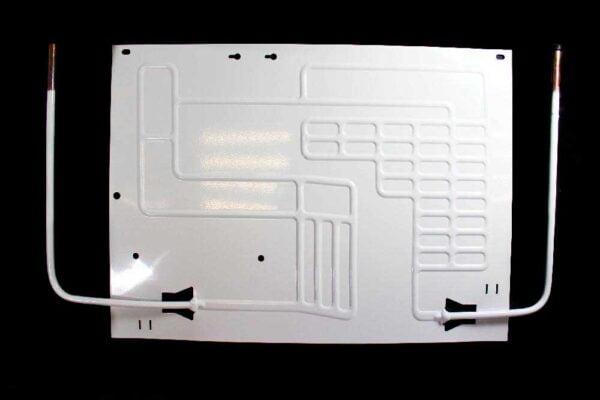 Двухканальный плачущий испаритель 450x330 мм. для бытовых холодильников. Испаритель холодильной камеры (отделения).