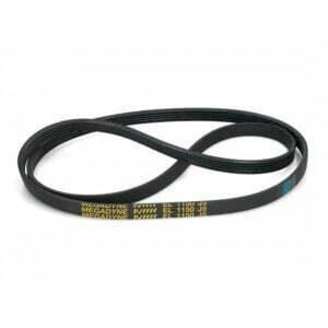Окружность: 1150 мм Профиль ремня: J - (расстояние 2,34 мм между клиньями) Количество дорожек: 5 шутк Исполнение ремня: черный, резиновый