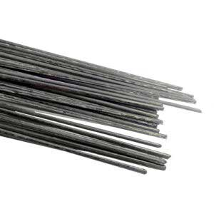 Твердый офлюсованный медно-фосфорный припой П-14 (Ø3*500 мм). Припой для пайки соединений меди и медных сплавов (латунь, бронза, нейзильбер), а так же серебра. Состав: Cu 90.17% (меди), P 5.8% (фосфора), Sn 4% (олово), Zr 0.03% (цирконий). Пруток заполнен некоррозийным флюсом. При пайке медных соединений возможна пайка без флюса. Длина прутка: 500 мм. Диаметр прутка: 3 мм. Форма прутка: круглая. Температура плавления: 640-680°C. Температура пайки (в газовом пламени, ТВЧ, пропусканием тока): 720-740°C. Вес одного прутка: примерно 23 гр. Предел прочности латунных соединений: 290-320 MPa. Производство: Россия. *Реализация путем взвешивания (гр, кг). **Погрешность состава: ±0,5%.